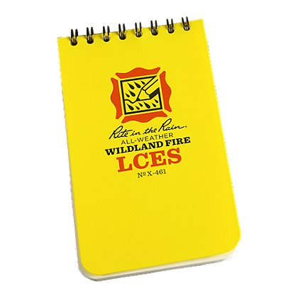 Rite in the Rain All-Weather LCES Wildland Fire Notebook, 3