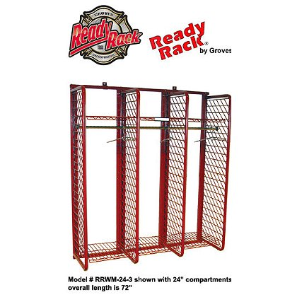 Groves Inc. Wall Mounted Red Rack