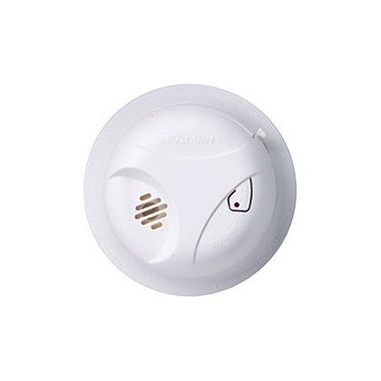 First Alert Battery Powered Ionization Smoke Detector with Test/Mute Button