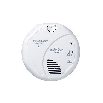 First Alert OneLink Wireless Battery Powered Smoke Detector