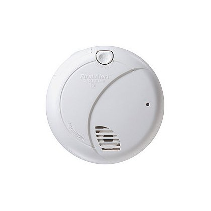 First Alert: Photoelectric Smoke Detector with Test/Mute Button