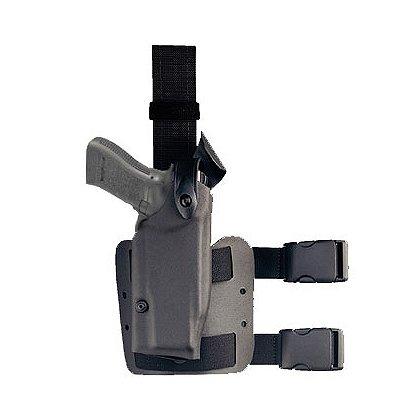 Safariland: Model 6004 Tactical Holster, Tactical Black, Hood Guard