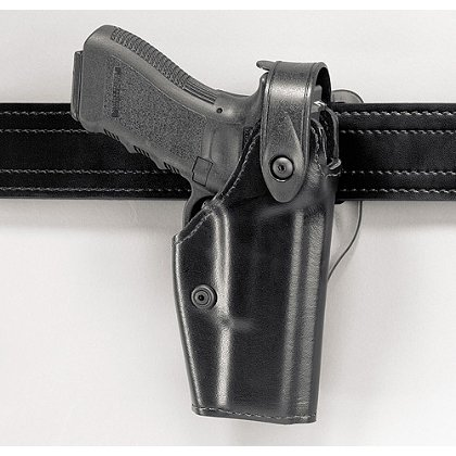 Safariland Model 6280 Level II Retention Mid-Ride SLS Duty Holster, Hi-Gloss