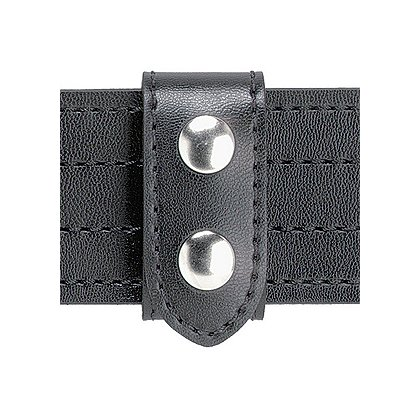 Safariland Model 655 SAFARI-LAMINATE Heavy Duty Belt Keeper, 2 Chrome Snaps