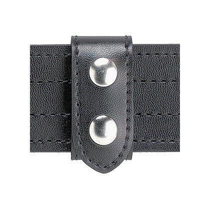 Safariland: Model 655 SAFARI-LAMINATE Heavy Duty Belt Keeper, 2 Chrome Snaps