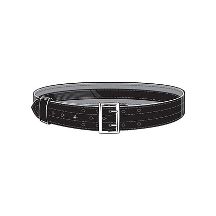 Safariland Model 87V SAFARI-LAMINATE Suede Lined Duty Belt, Lined, 2.25