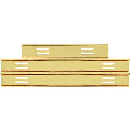 Blackinton Commendation Bar Slide Holder, Holds 8 Awards