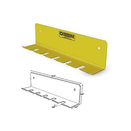 Sensible Products: Cord Adapter Bracket Yellow Powder-Coated Aluminum