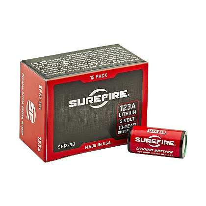 SureFire SF123A Lithium Batteries