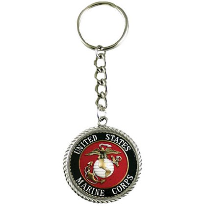 Son Sales, Inc. US Marine Corps Sublimated Key Ring