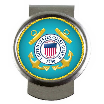 Son Sales, Inc. US Coast Guard Sublimated Money Clip