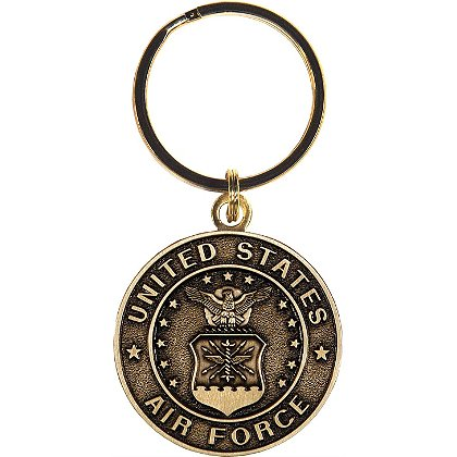 Son Sales Air Force Classic Key Ring Bronze Key Ring 1.5