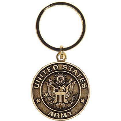 Son Sales Army Classic Key Ring Bronze Key Ring 1.5