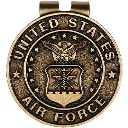 Son Sales: Air Force Classic Money Clip Bronze Money Clip 1.5