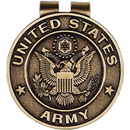 Son Sales Army Classic Money Clip Bronze Money Clip 1.5