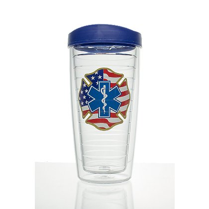 Exclusive Patriotic Star of Life Mug with Travel Lid