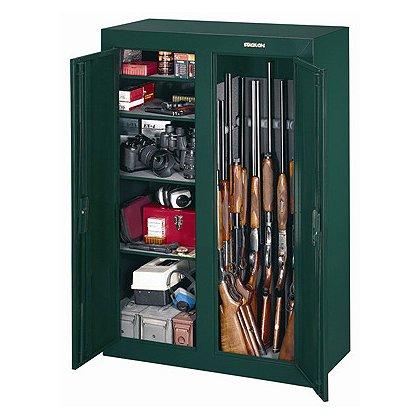 Stack-On: GCD-9216-5: 16-Gun Convertible Double-Door Steel Security Cabinet