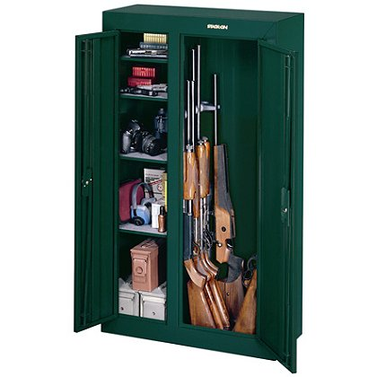 Stack-On: GCD-924-5: 10-Gun Double-Door Steel Security Cabinet