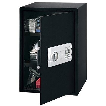 Stack-On PS-520 Super-Sized Strong Box Personal Safe, Electronic Lock