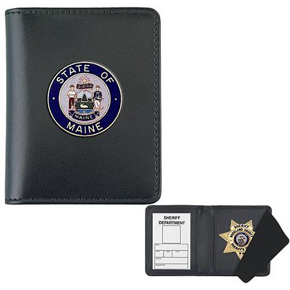 Strong: Side Open Badge Case with Challenge Coin Cutout