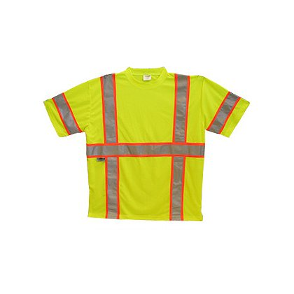 Lakeland: ANSI Hi-Vis Mesh Kool Tee with Reflective Striping - 5XL
