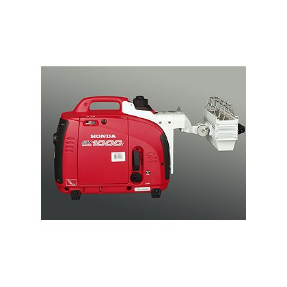 Tele-Lite Honda Generator with Tele-Lite Lamp Unit, 1.8HP Engine, 750 Watt Light