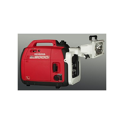 Tele-Lite Honda Generator with Tele-Lite Lamp Unit, 3.5HP Engine, 750 Watt Light