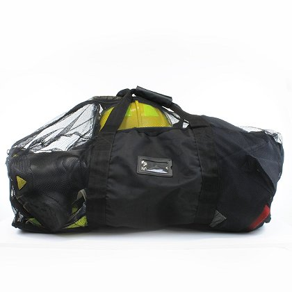Exclusive TheFireStore XL Mesh Turnout Gear Bag, Black