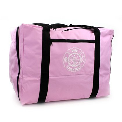 TheFireStore: Exclusive Firefighter Turnout Gear Bag, Pink