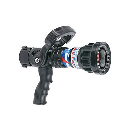 Task Force Tips Legacy Mid-Force Dual Pressure Automatic Nozzle w/ Shutoff and Pistol Grip