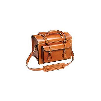 Triple K: Deluxe Leather Shooting Bag -- Classic Style, Handmade Quality, Exceptional Value.