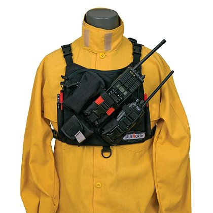 True North: Dual Radio Chest Harness, Universal, NFPA