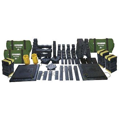Turtle Plastics Complete Cribbing Kit D, with Toters