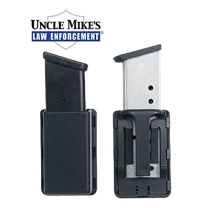 Uncle Mike's Kydex Single Mag Holder, Fits Double Stacked Magazine
