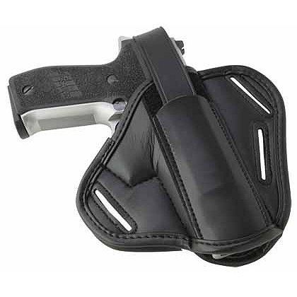 Uncle Mike's Black Cordura Super Belt Slide Holster, Ambidextrous