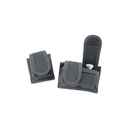 Uncle Mike's: Universal Speedloader/ECD Cartridge Case, VELCRO® brand Closure, Black Cordura Nylon