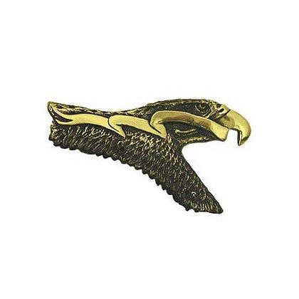 Liberty Artworks Cast Bronze Solid Helmet Eagle