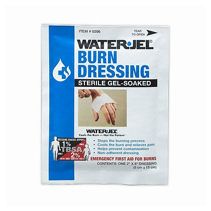 Waterjel: Burn Dressings