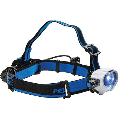 Pelican 2780R Headlamp, LED, 558 Lumens, 3