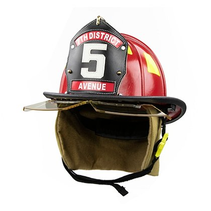 Cairns 1044 Helmet, Red, NFPA, OSHA
