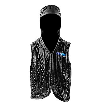 CoolShirt: Active Aqua Hooded Vest