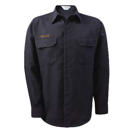 Lion StationWear Brigade 100% Cotton Long-Sleeve Shirt