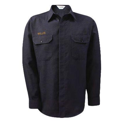 Lion StationWear: Brigade 100% Cotton Long-Sleeve Shirt