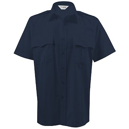Lion StationWear Bravo 5.5 oz. Short Sleeve Plain Weave FireWear Shirt