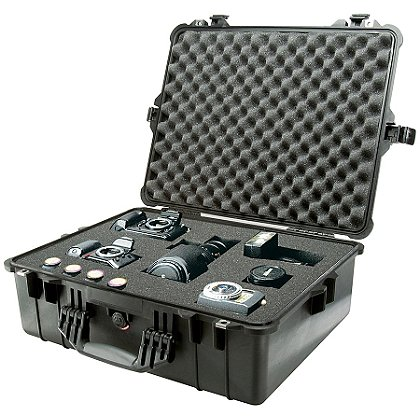Pelican: TrekPak Large Protector Case, Model 1600TP, Black