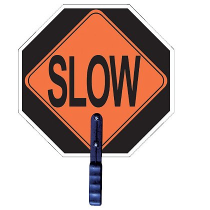 2W International: STOP/SLOW Paddle with 5