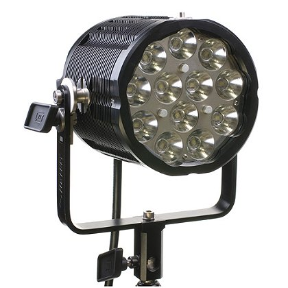 FoxFury: Sunbolt 6 LED Spotlight/Search Light, 18 Degrees, 11000 Lumens, Boom or Pole Mounted