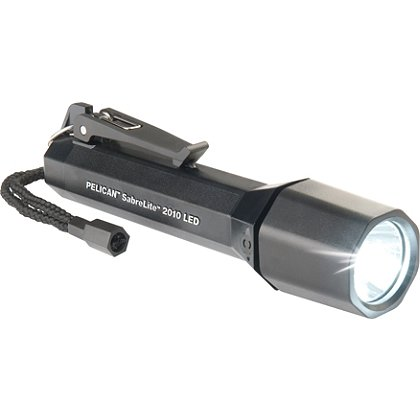 Pelican 2010 SabreLite LED Flashlight, 3C Batteries, 161 Lumens