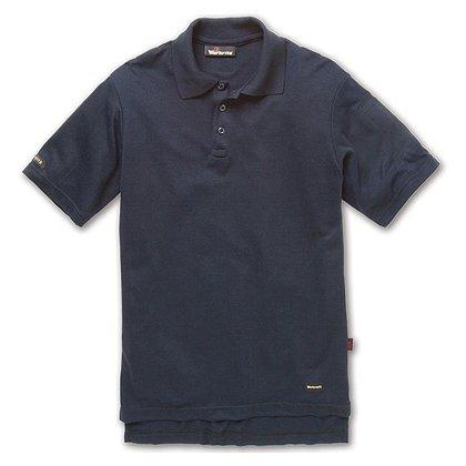 Workrite: 6.7 oz. Tecasafe Short Sleeve Polo, Navy