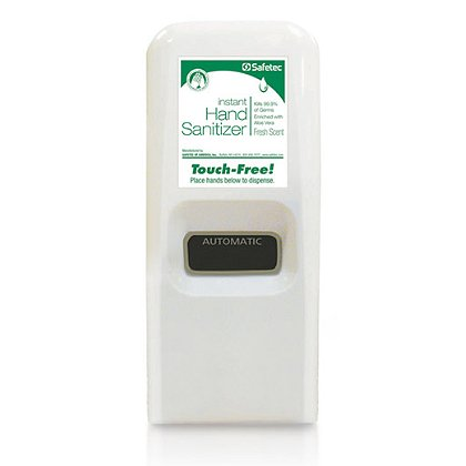 Safetec: Antiseptic Bio Hand Cleaner Instant Hand Sanitizer 800 ml Auto Dispenser